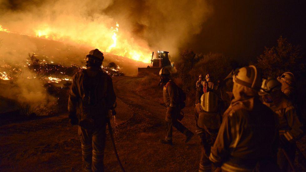 incendio Bomberos