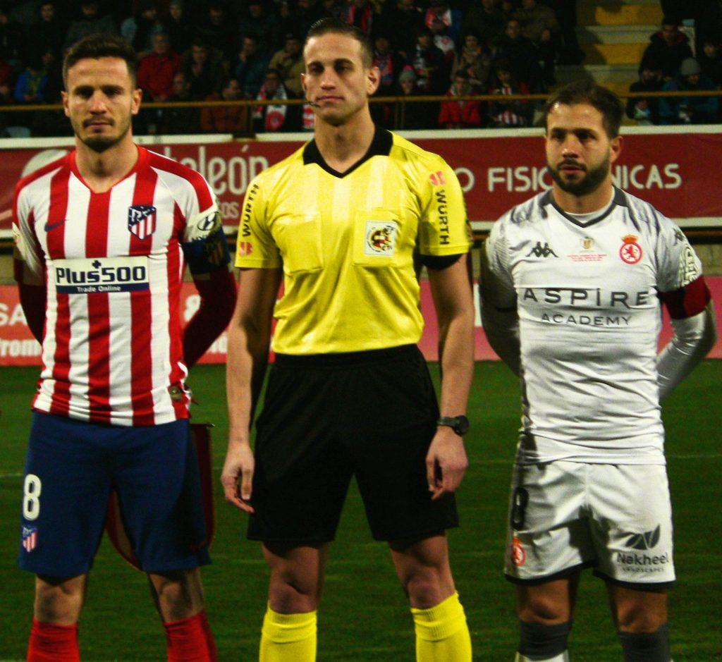 Capitanes en el Cultural - Atlético