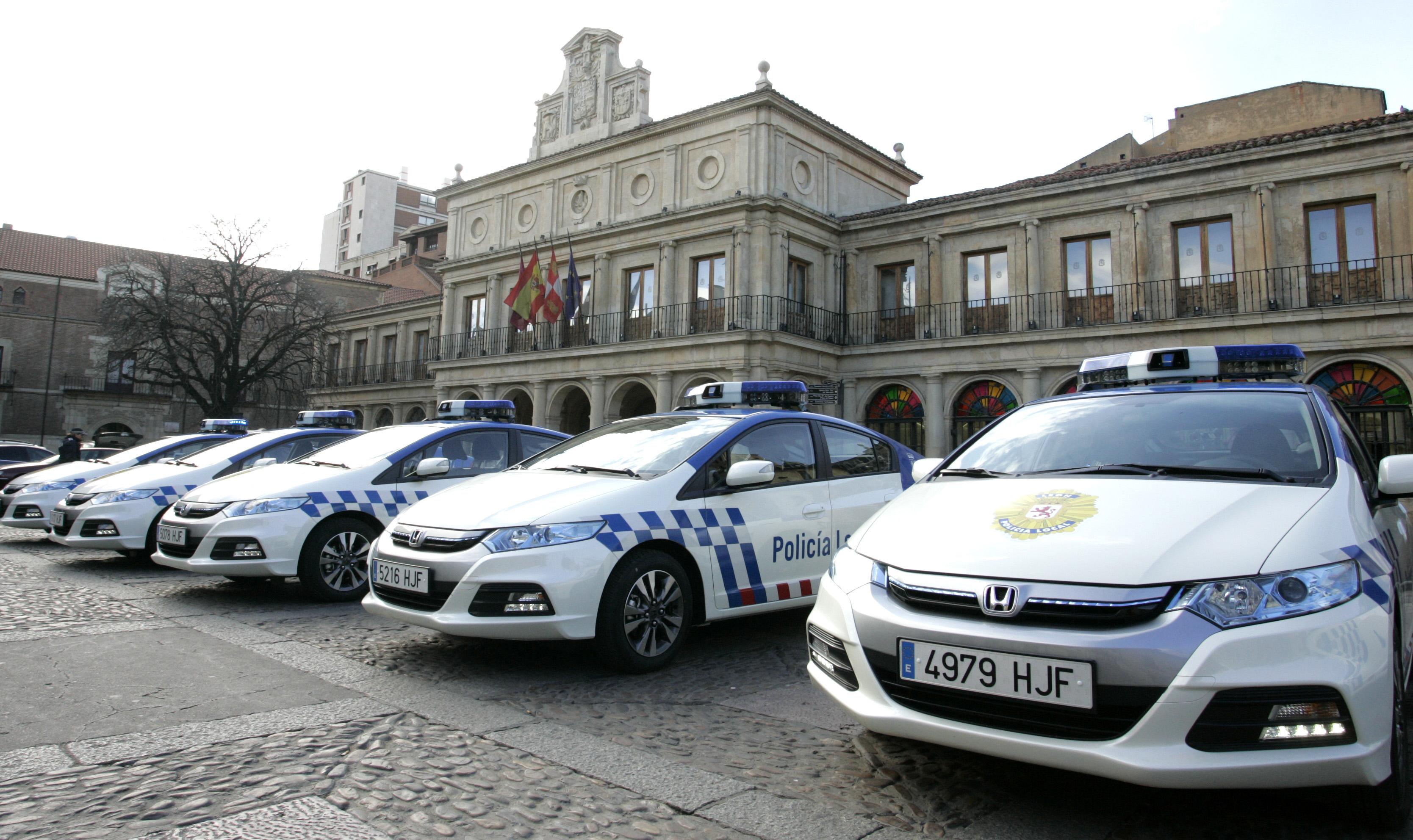 coches policia local leon