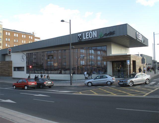 Estacion Tren Leon Adif Renfe