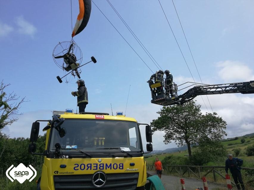 rescate rapelista sepa camion