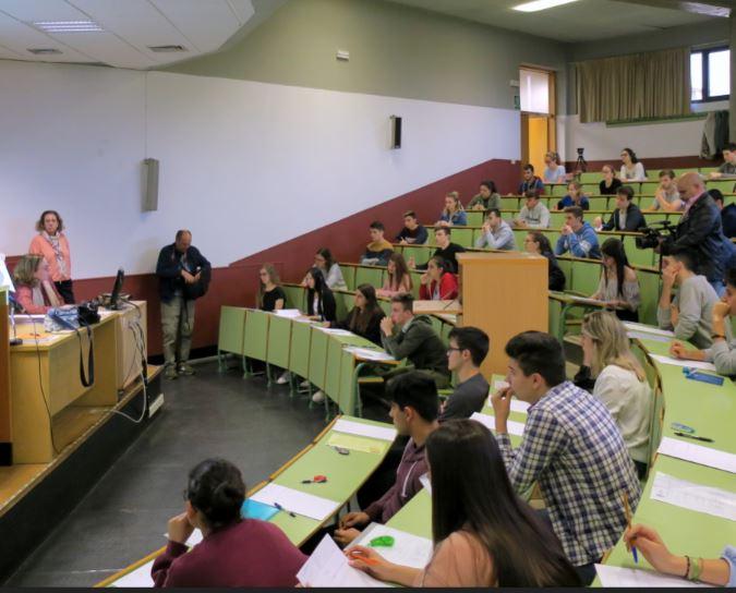 pruebas examenes ebau selectividad acceso universidad examen