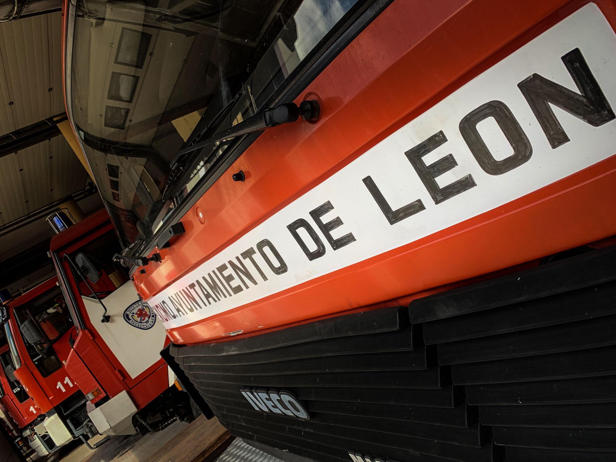 Bomberos León