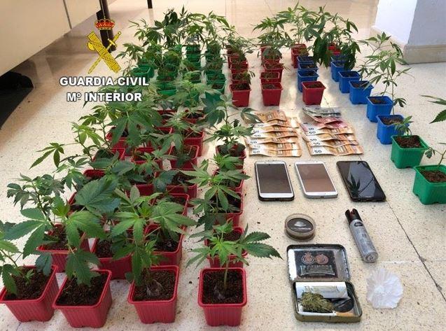 marihuana drogas guardia civil