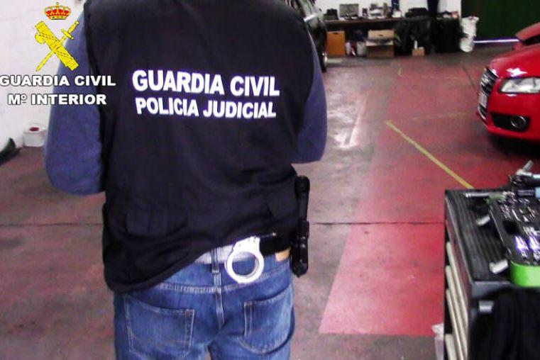Guardia Civil Policia judicial taller
