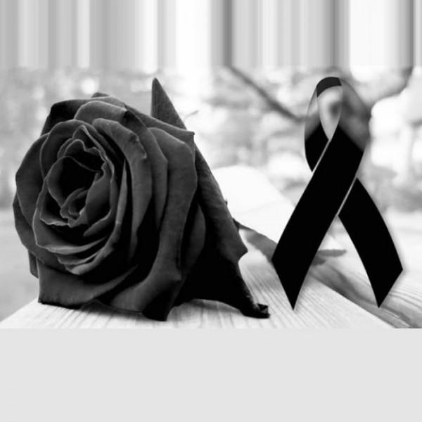 flor negra duelo luto muerte tristeza pesame