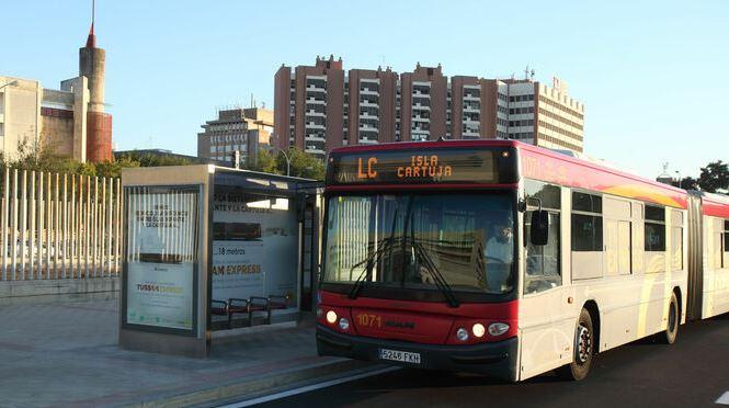 Autobús de sevilla urbano