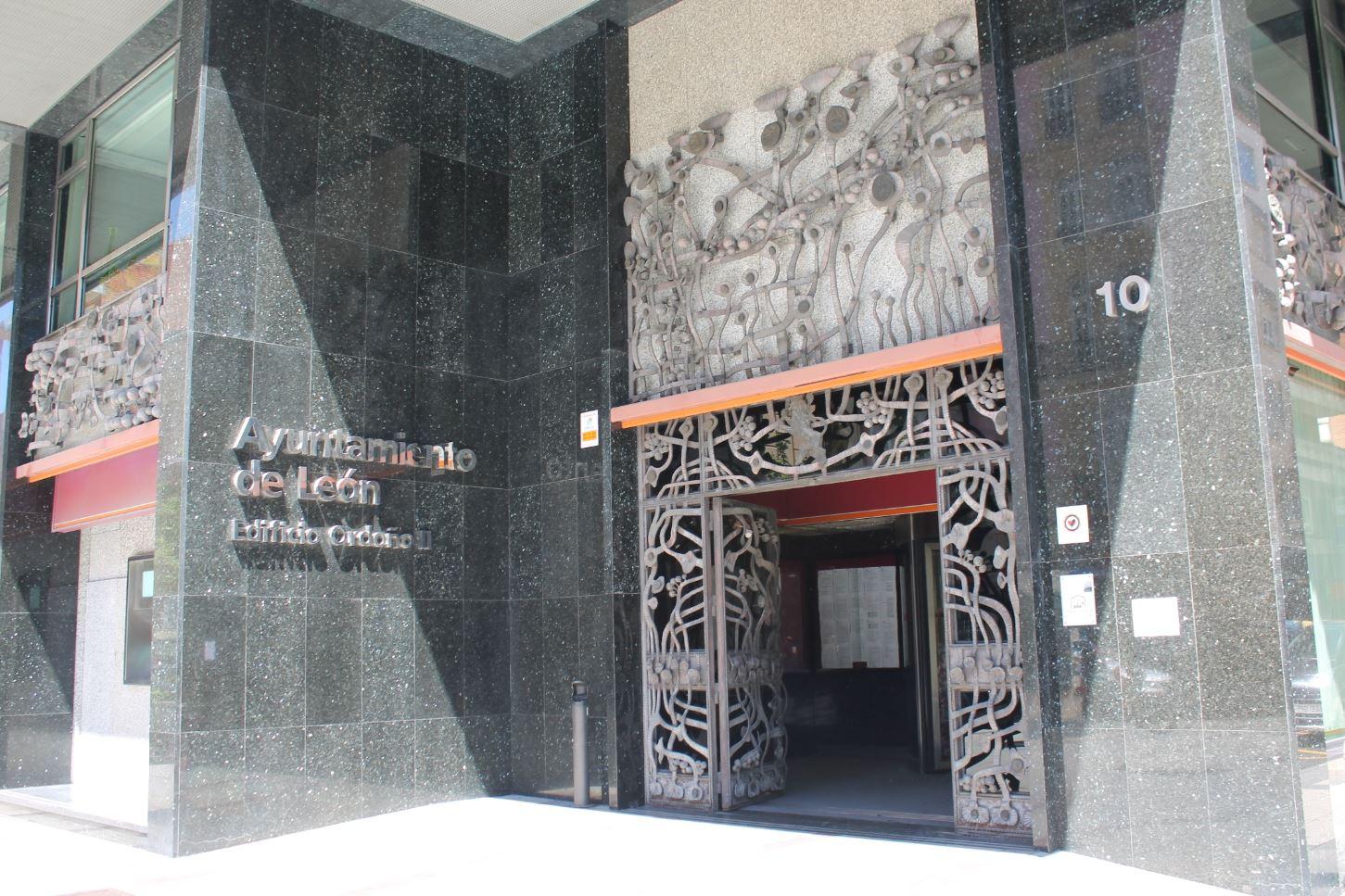 Ayuntamiento de León edificio ordoño II
