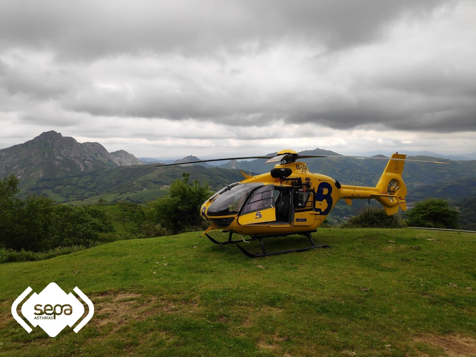 sepa mujer desaparecida asturias rescate montaña