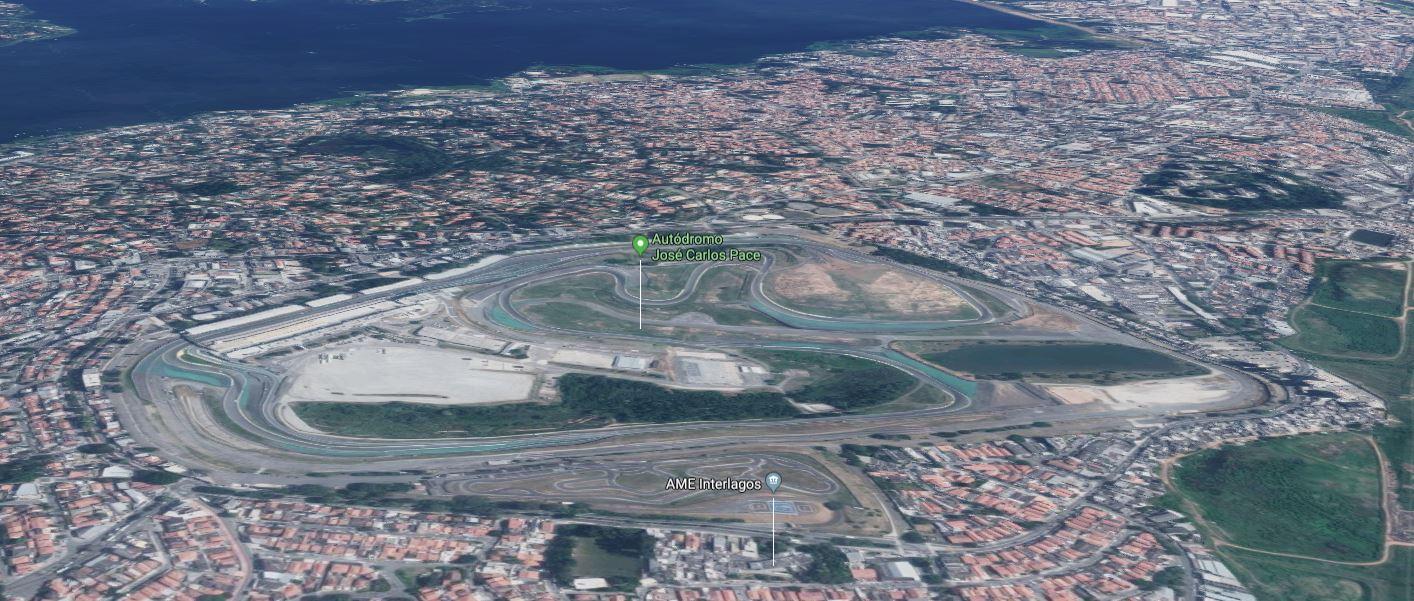 Circuito Interlagos Brasil
