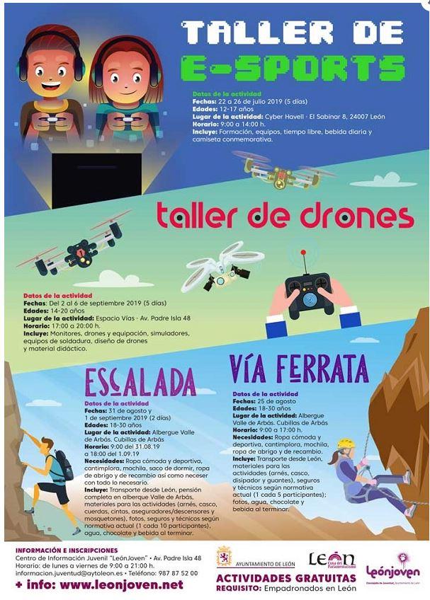 talleres e-sport en León
