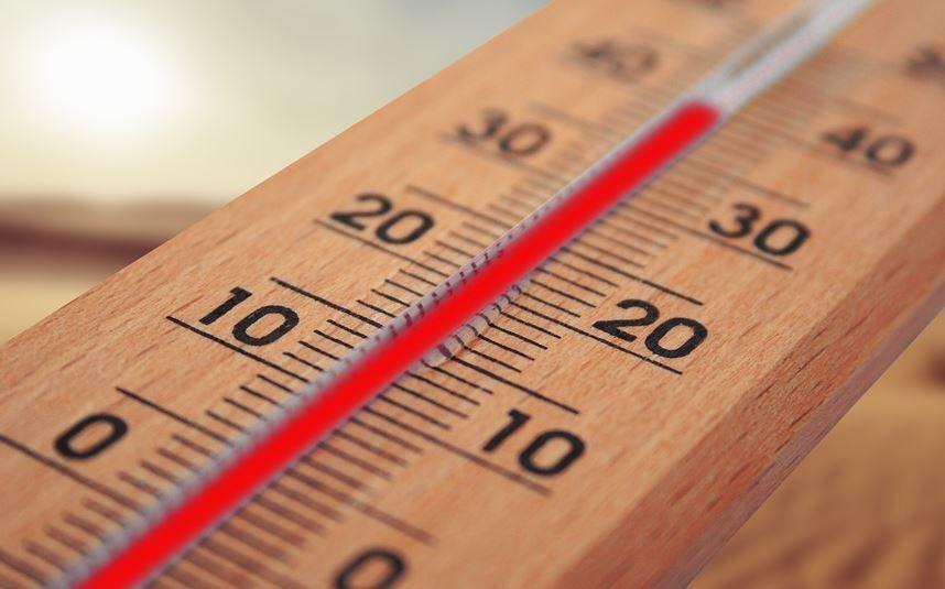 temperatura tiempo termometro