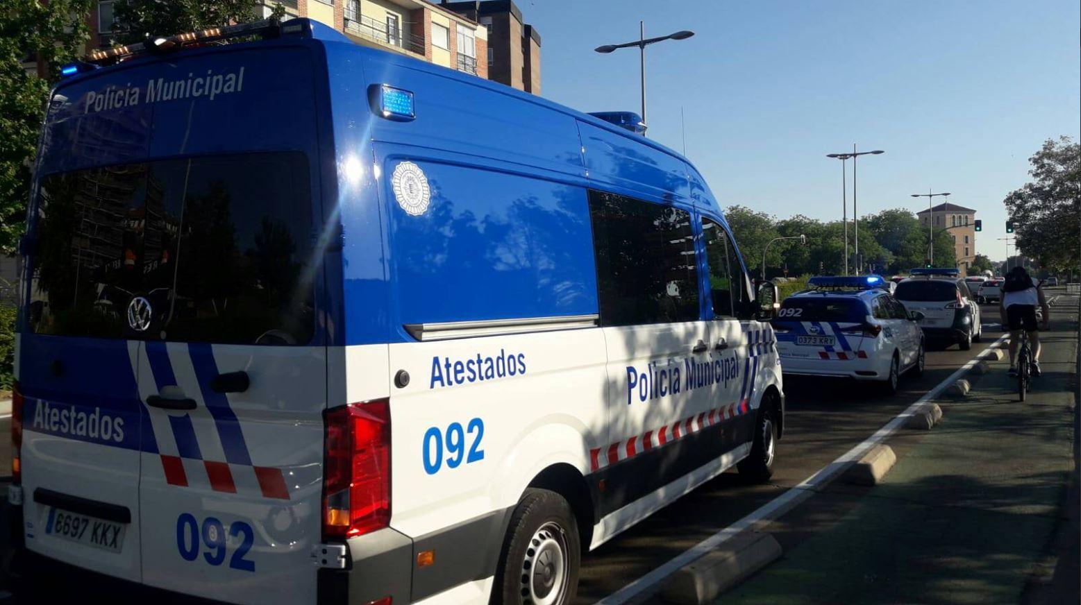 Policía Local Valladolid atestados