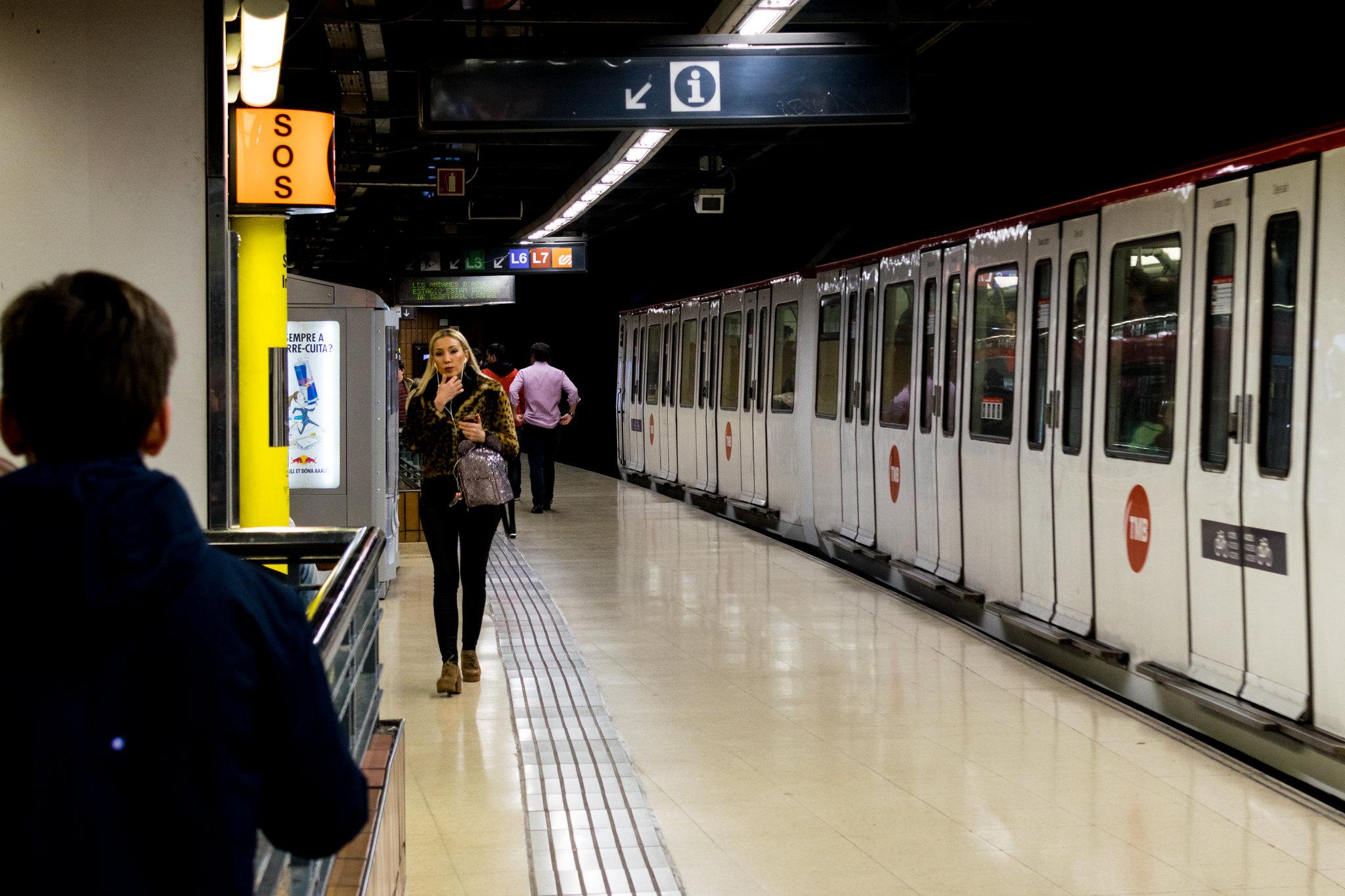 método de robo estaciones metro España
