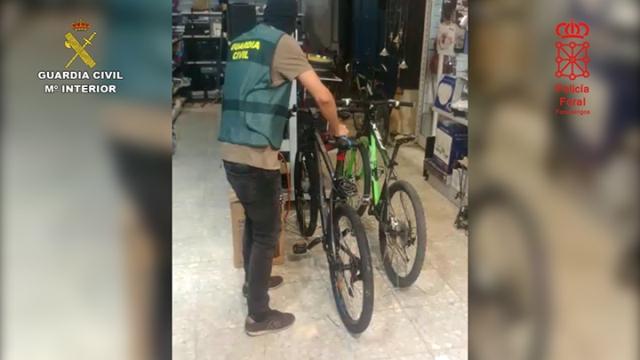 camino de santiago Guardia Civil bicis