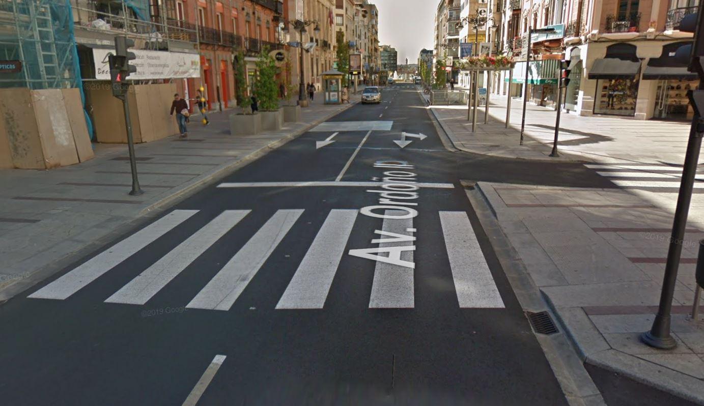 avenida ordoño II calle leon centro