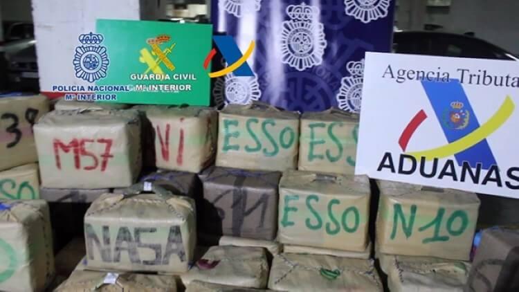 narcotrafico organizacion guardia civil hachis