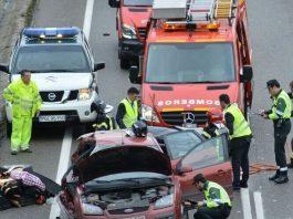 Accidente en la N-120