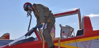 Ejército del Aire patrulla aguila oficial