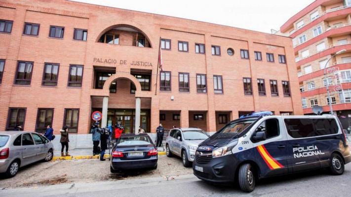 Palacio judicial arandina policia nacional