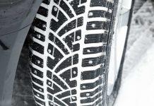 cadenas ruedas coche nieve frio