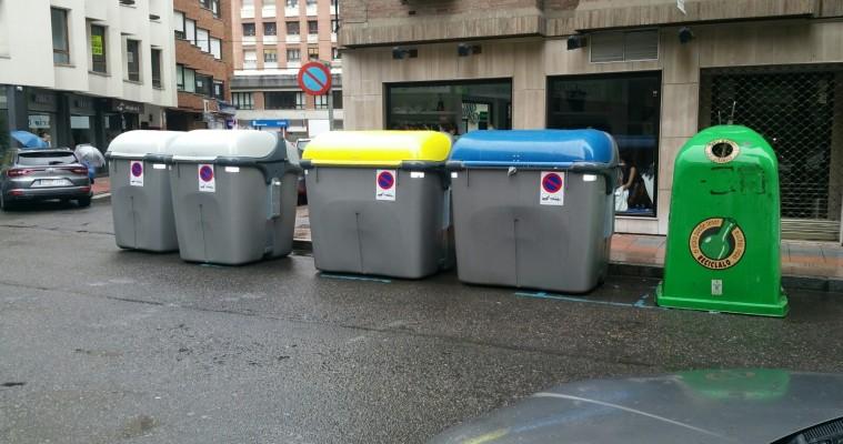reciclaje contenedores leon contenedor de basura