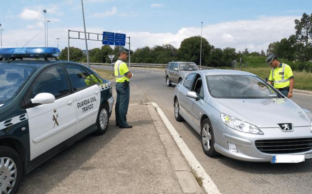 dgt direccion general trafico guardia civil control
