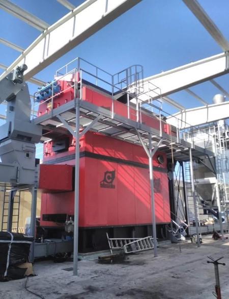 La red de calor de Ponferrada prosigue con éxito su construcción