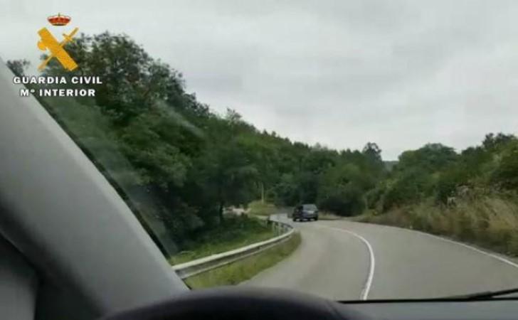 conductor ambulancia graba asturias