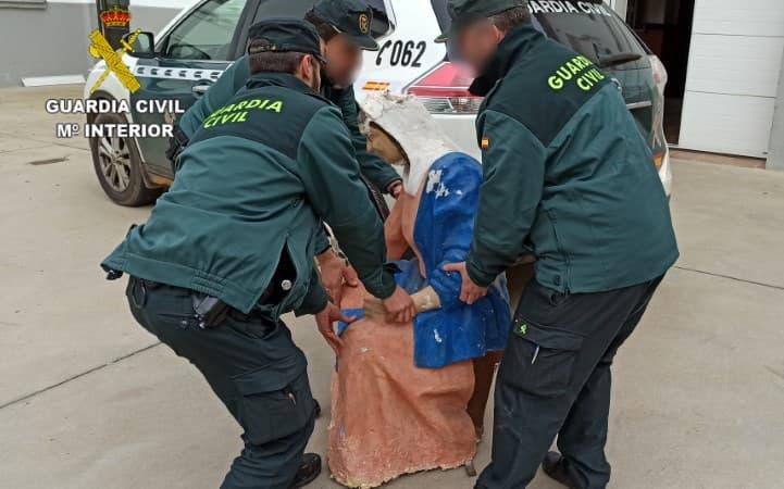 Guardia Civil figuras nacimiento belén leon laguna de negrillos