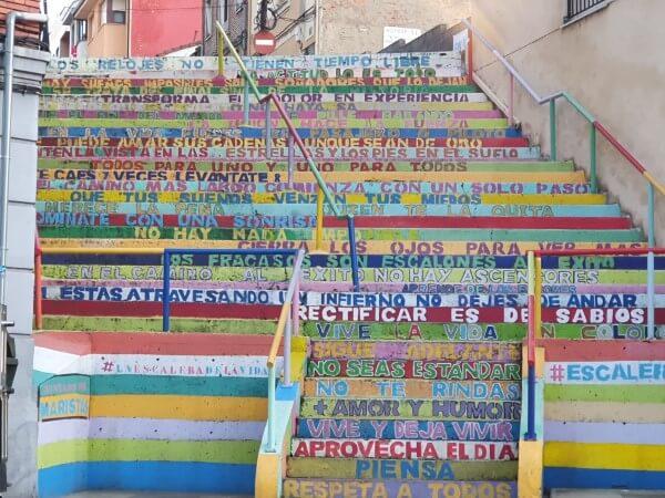 escaleras de León