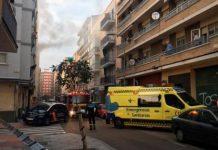 26 personas atendidas incendio día de Navidad