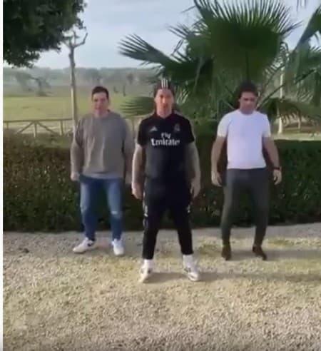 baile sergio ramos