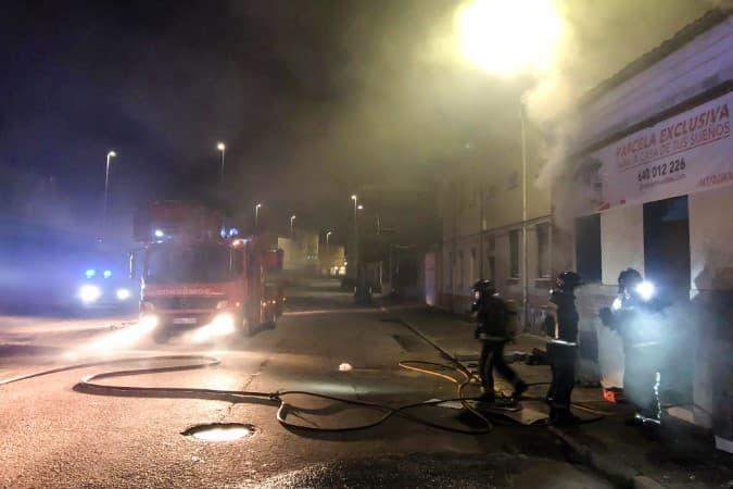 incendio bomberos de León calle sanjurjo