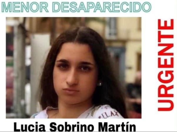 menor desaparecida Salamanca. Lucía