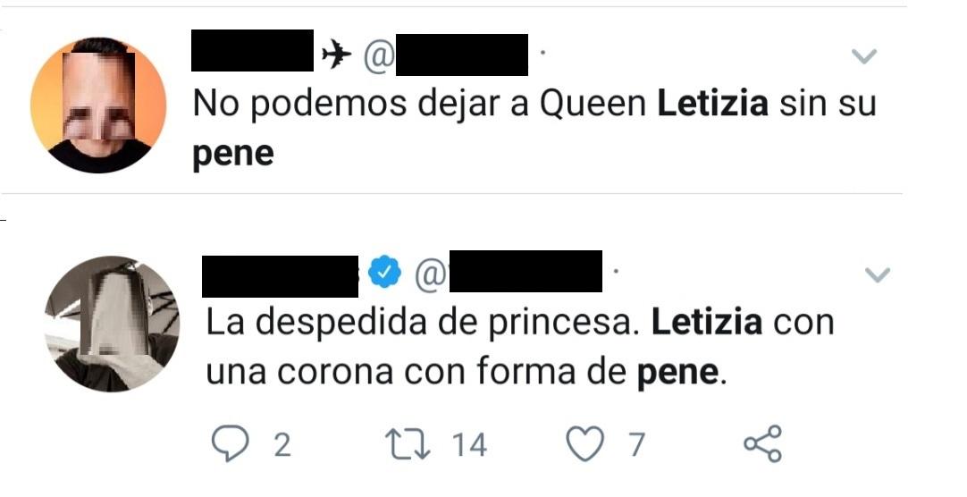 letizia pene twitter