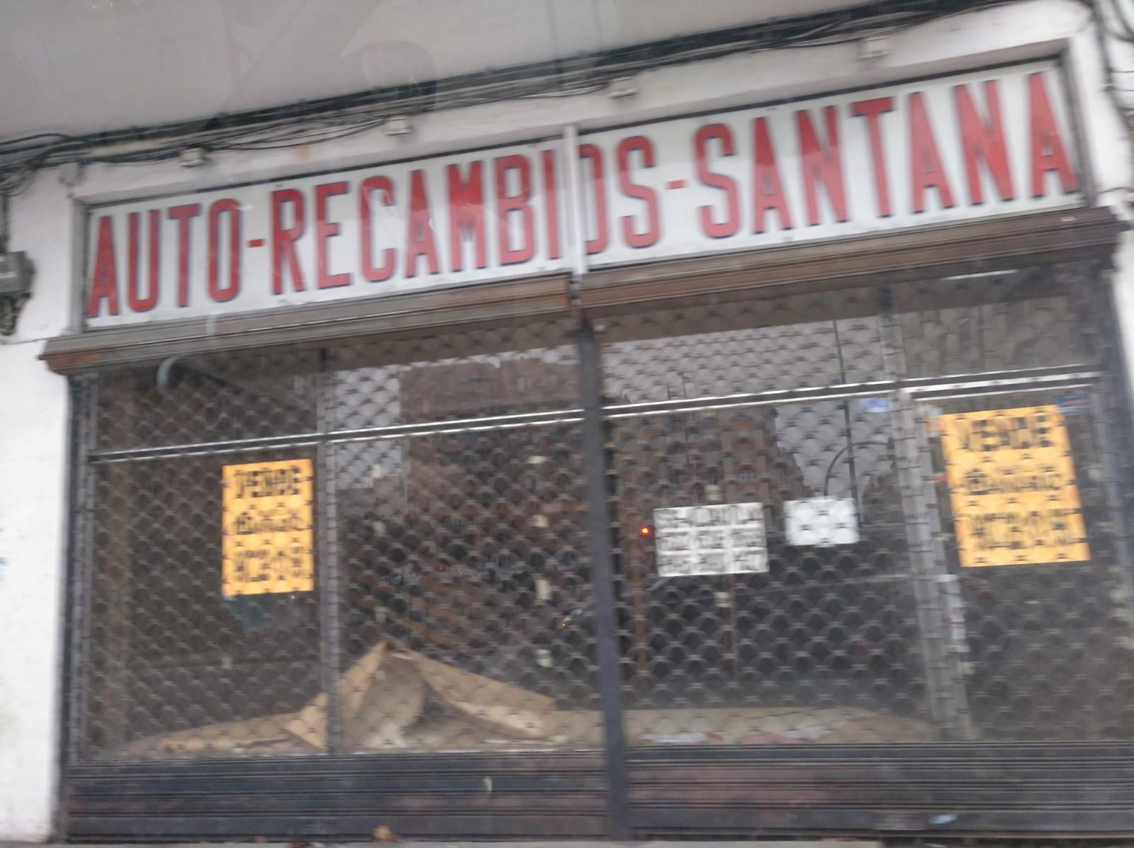 Auto-recambios Santana en Avenida Alcalde Miguel Castaño