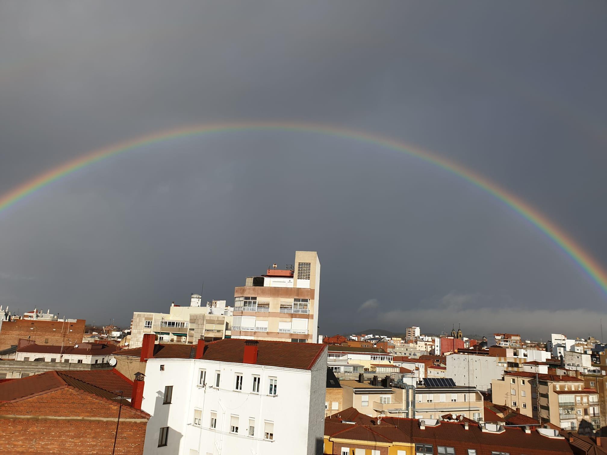 arcoíris navidad