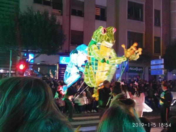Cabalgata Reyes Magos de León 2019