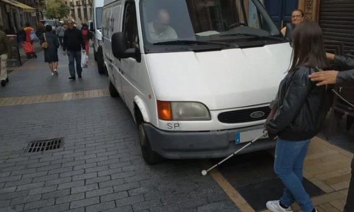 Calle Ancha León adaptada personas con discapacidad visual