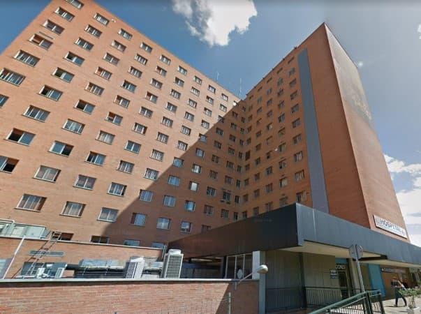 Hospital Clínico Universitario de Valladolid joven herido accidente de tráfico