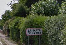 Muere una mujer en un incendio en Mata de la Riba, León