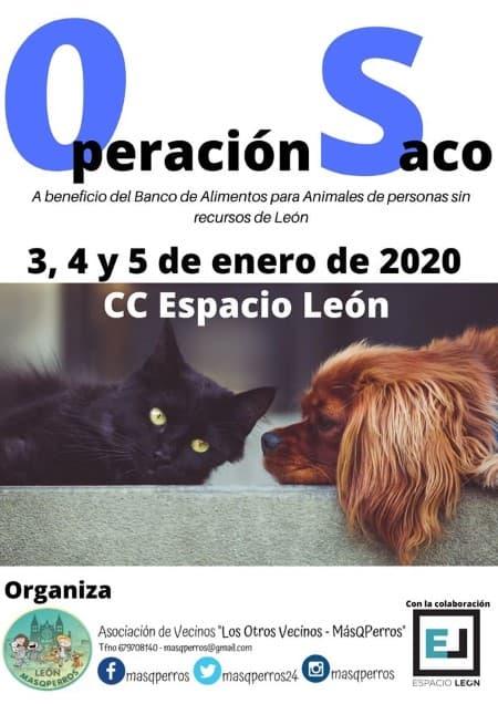 Operación Saco 2020 espacio León Centro Comercial