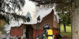 Una calefacción de pellets envía a mujer de Vegacervera al Hospital de León
