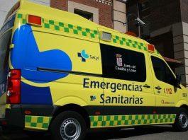 mbulancia 112. Joven y menor heridas en un accidente de tráfico en Salamanca