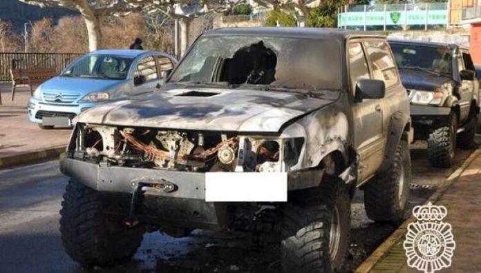 detenido por incendio vehículo ponferrada