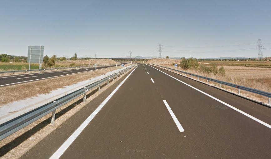 kilómetro 120 de la A-60, en Villamoros de Mansilla (León)