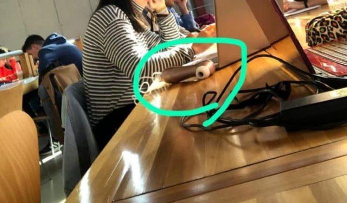 objeto sexual en la bibilioteca