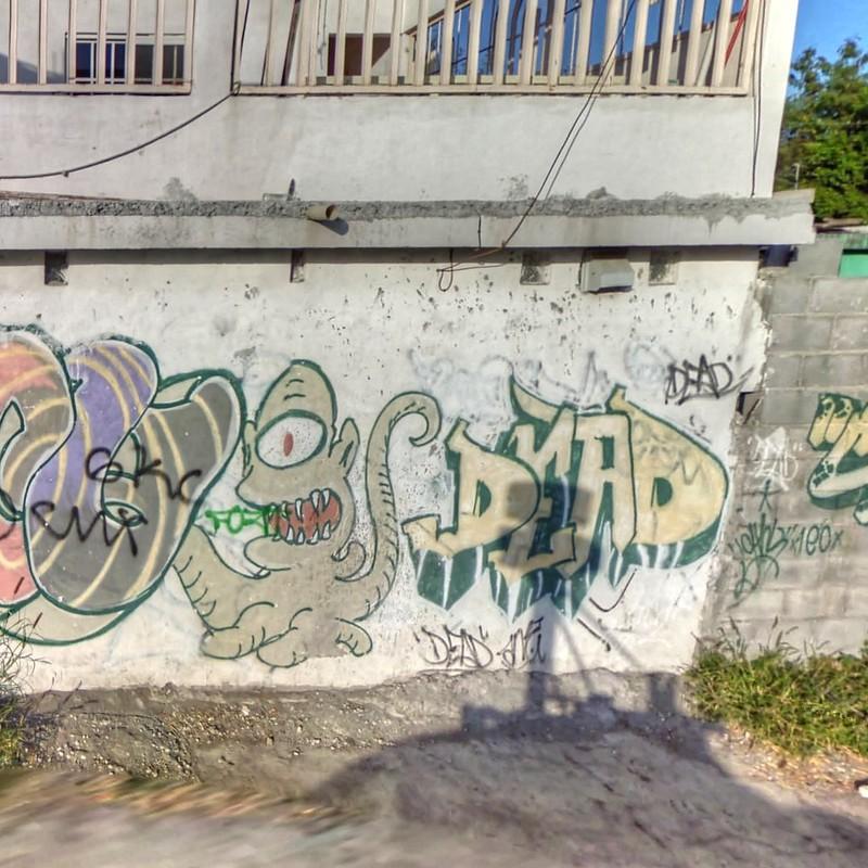 grafiti león
