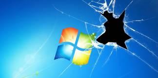Grave y vital error en Windows 7
